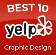 Yelp 10 Best Graphic Designers in Austin list